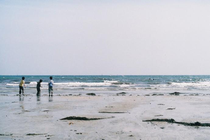 OLYMPUS OM-2 ZUIKO 50mm F1.4 Kanagawa / Yuiga-beach