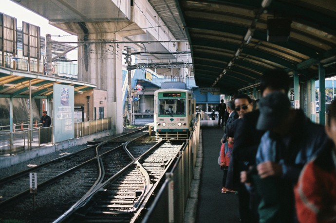 OLYMPUS OM-2 ZUIKO 50mm F1.4 Tokyo / Oji Station