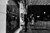 LEICA M4-P + LEICA ELMAR 50mm f2.8 + Kodak TRI-X 400(+2push E.I 1600) Tokyo / Ginza - 2013/06/04