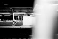 LEICA M4-P + LEICA ELMAR 50mm f2.8 + Kodak TRI-X 400(+2push E.I 1600) Tokyo / Yurakucho-station - 2013/06/08
