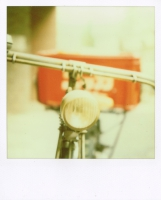 Polaroid SX-70 + T-600 film Tsukishima , Tokyo / 2009.03