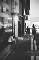 LEICA M4-P + MS-OPTICAL-R&D SONNETAR 50mm F1.1 MC + Kodak TRI-X 400 Shinjuku , Tokyo – 2013/09/23