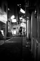 LEICA M4-P + MS-OPTICAL-R&D SONNETAR 50mm F1.1 MC + Kodak TRI-X 400(+2push E.I 1600) Sangenchaya , Tokyo – 2013/10/31