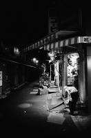LEICA M4-P + CANON 25mm F3.5 + Kodak TRI-X 400(+2push E.I 1600) Asakusa , Tokyo – 2013/11/06