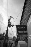 Fujifilm X-Pro1 + Voigtlander Super Wide-Heliar 15mm F4.5 Aspherical II Ohatsu Tenjin-Dori Street , Osaka – 2014/01/31