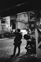 LEICA M4-P + MS-OPTICAL-R&D SONNETAR 50mm F1.1 MC + Kodak TRI-X 400(+2push E.I 1600) Kanda , Tokyo – 2014/06/17