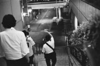 LEICA M4-P + MS-OPTICAL-R&D SONNETAR 50mm F1.1 MC + Kodak TRI-X 400(+2push E.I 1600) Tokyo Dome City , Tokyo – 2014/06/17