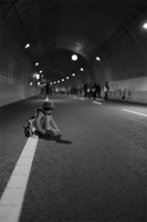 LEICA M9-P + VOIGTLANDER NOKTON vintage line 50mm f1.5 Aspherical VM Metropolitan Expressway C2(Yamate Tunnel) , Tokyo – 2015/03/01