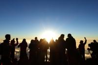 SONY RX100M3(ZEISS Vario-SonnarT* 24-70mm F1.8-2.8) Mt.Fuji summit , Japan – 2015/08/23
