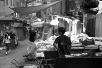 Leica M Monochrom (CCD) +  VOIGTLANDER vintage line NOKTON 50mm f1.5 Aspherical VM Sheung Wan , Hong Kong - 2015/10/18