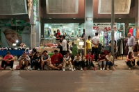 LEICA M9-P + VOIGTLANDER NOKTON vintage line 50mm f1.5 Aspherical VM Night Market , Chiang Mai , Thailand – 2015/11/24