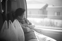 LEICA M(Typ262) + Leitz Summar 5cm F2 on the Train , Yamanashi – 2016/09/10