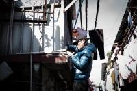 LEICA M(Typ262) + VOIGTLANDER NOKTON vintage line 50mm f1.5 Aspherical VM LaoXiMen , Shanghai , China – 2017/01/21